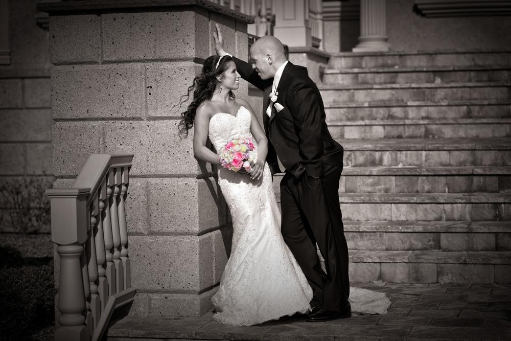 Brigalia Wedding casual conversation / Meyer Photography
