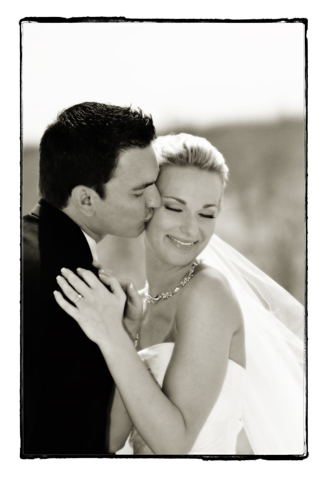 Seaview resort bride and groom portrait / Meyer Photography