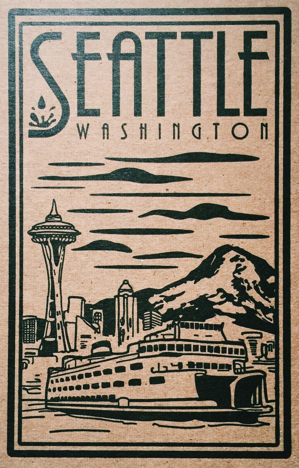 Card designed and sold by  Pike St. Press  in Seattle, WA