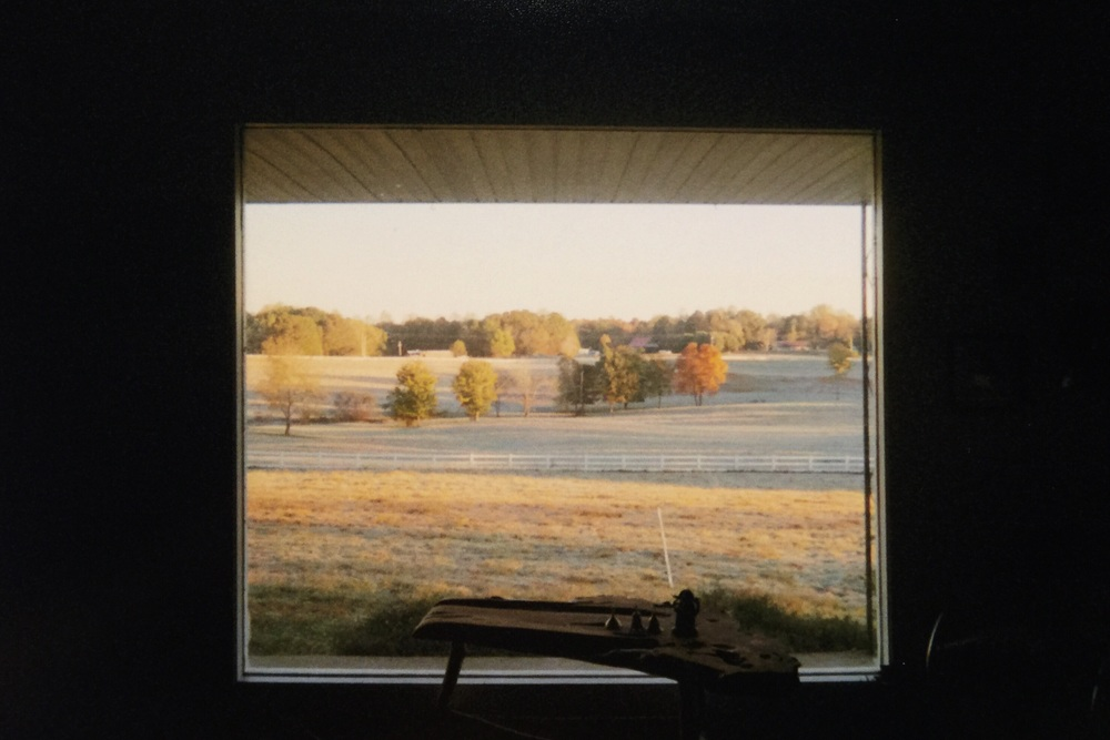 My favorite farm window view.