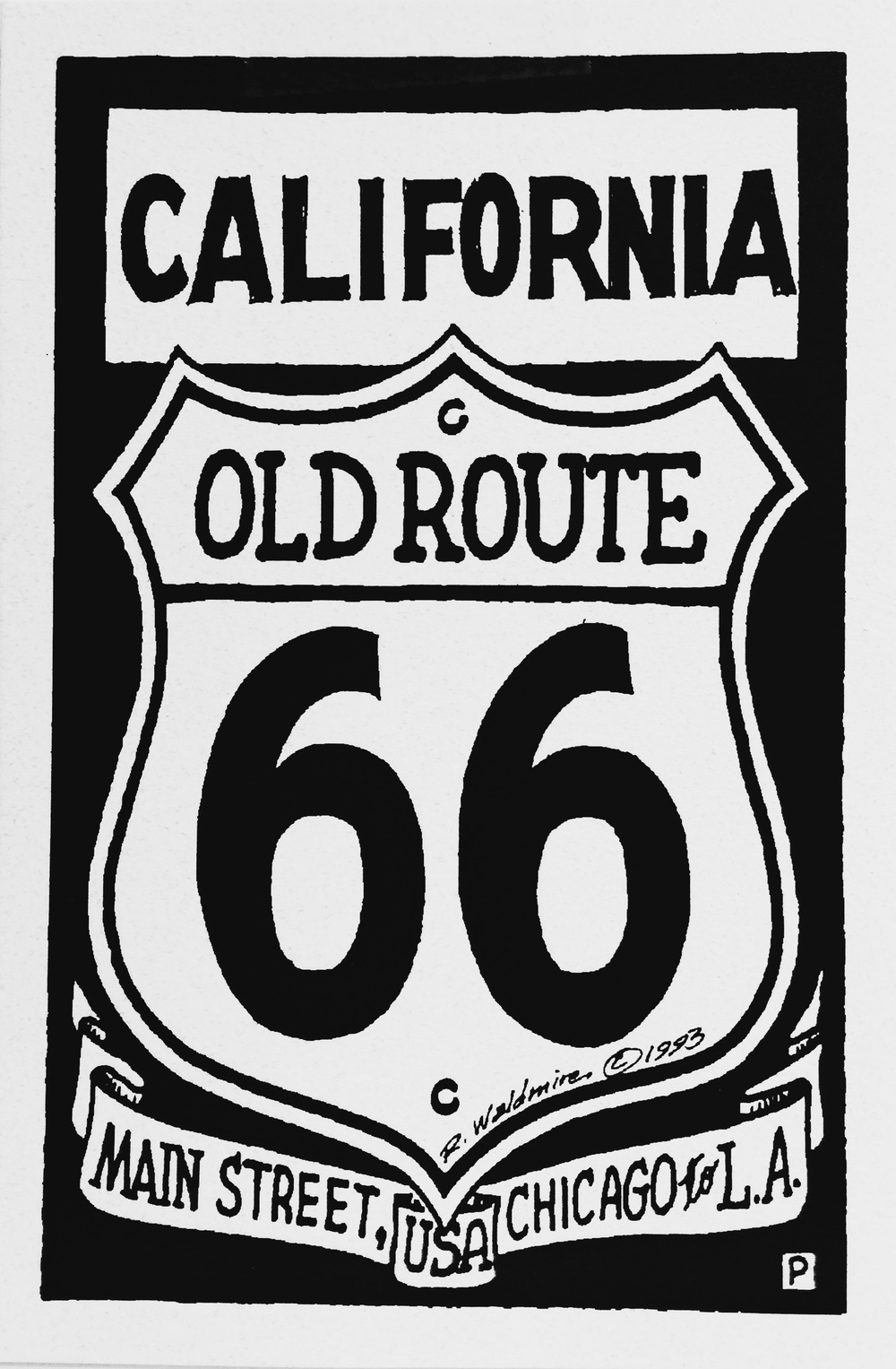 Route66 California