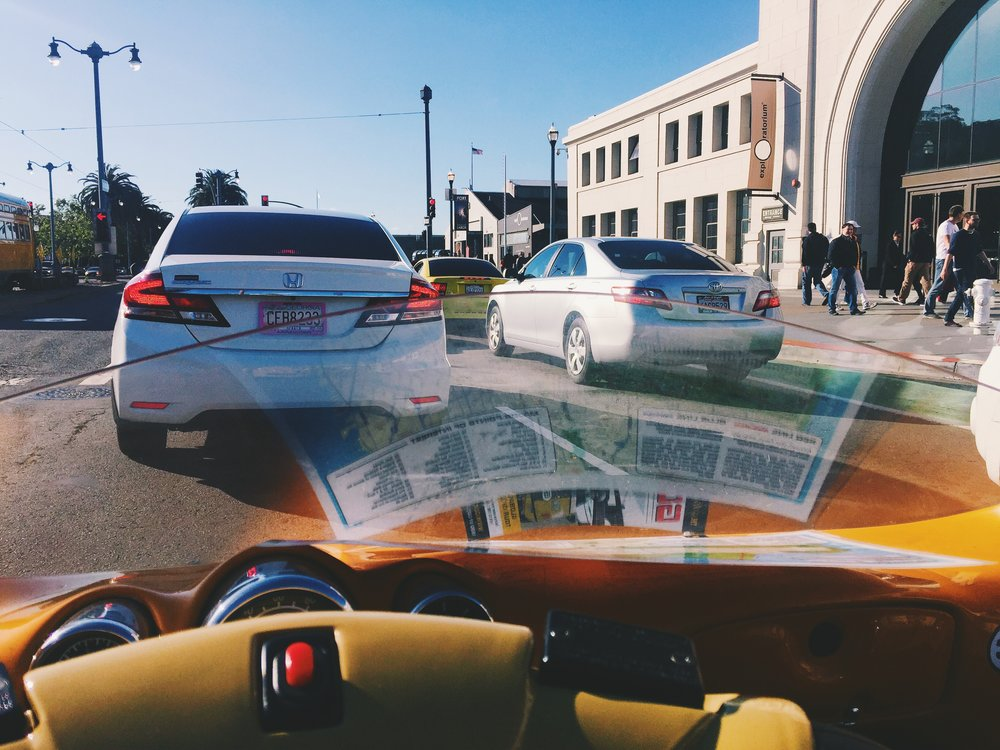 san francisco. california road trip