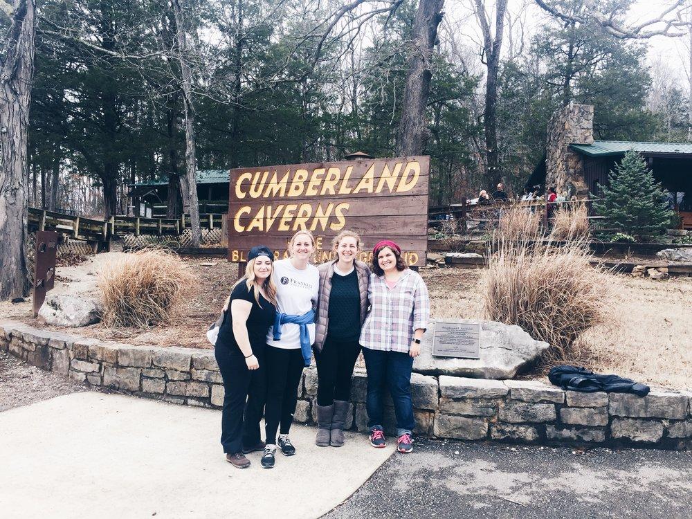 toured Cumberland Caverns...