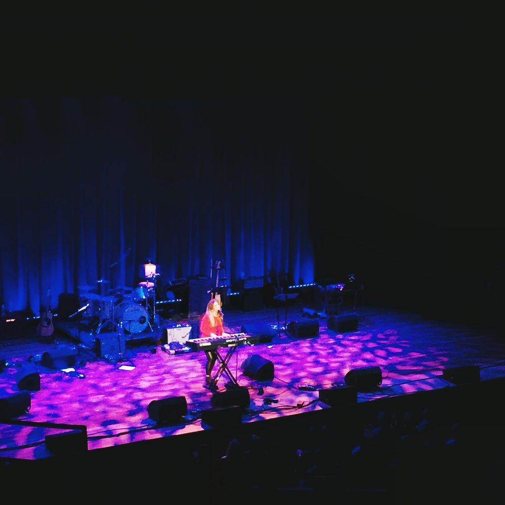 saw my friend perform at the Ryman...