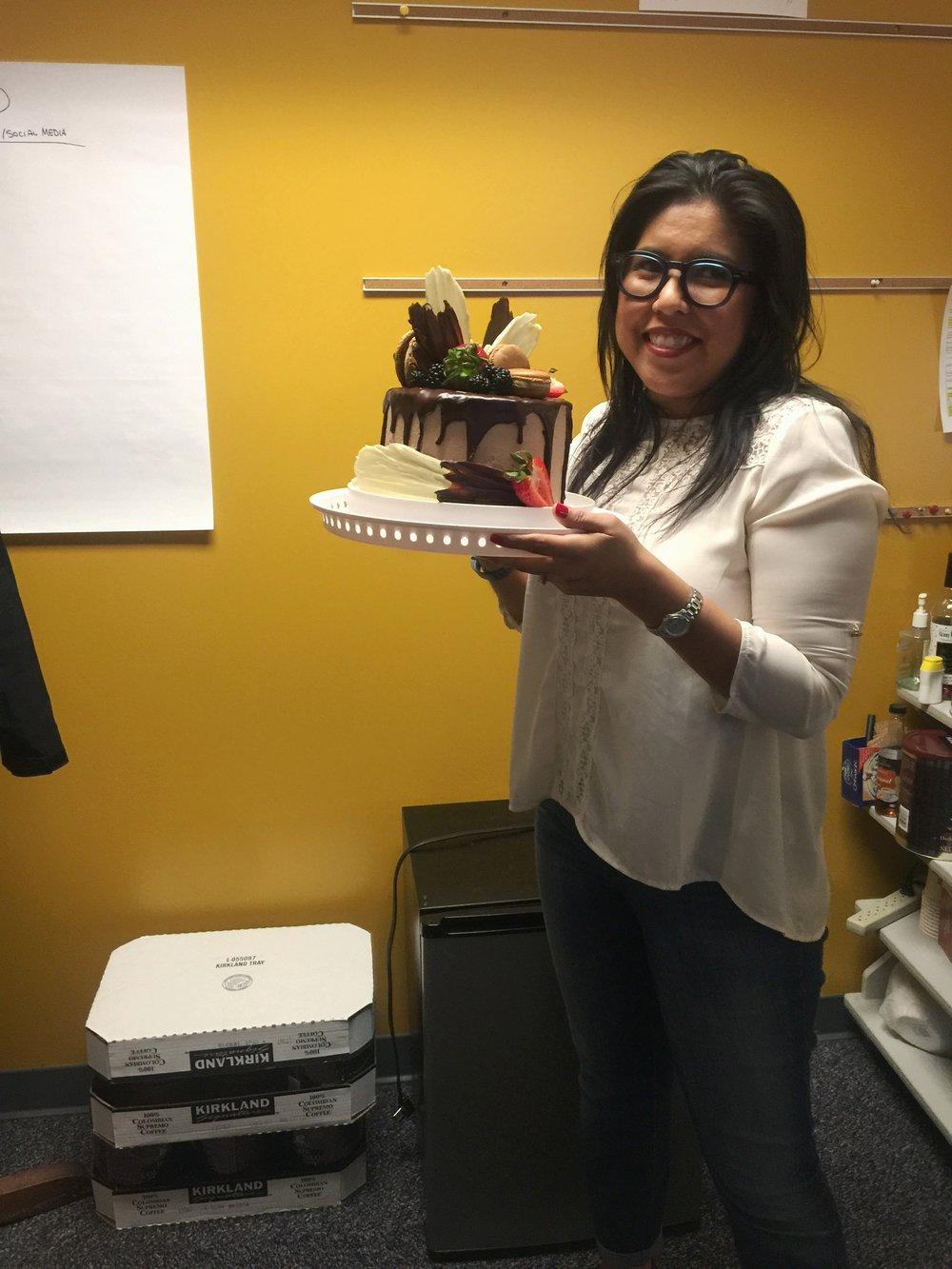 celebrated Heather's birthday...