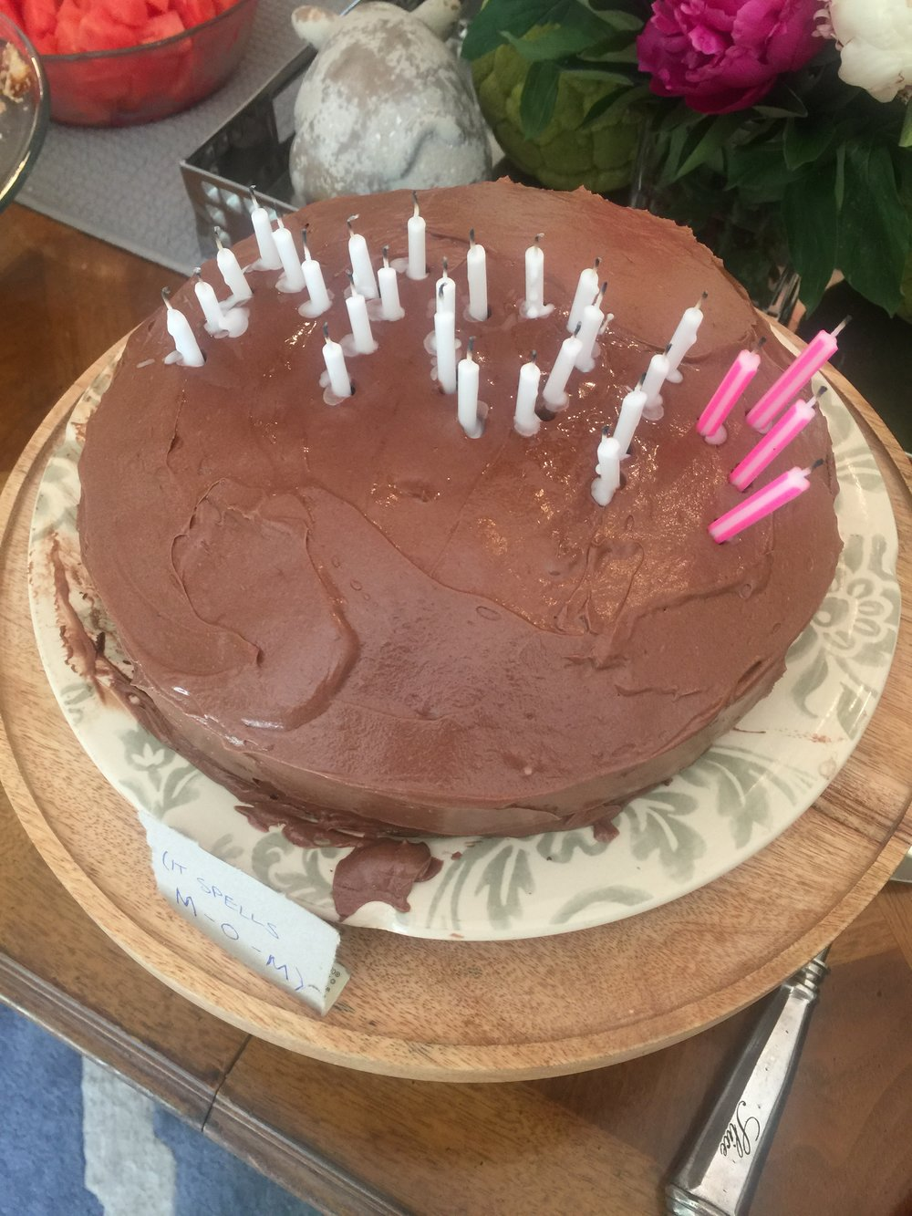 celebrated my bridal shower & Rebecca's birthday...