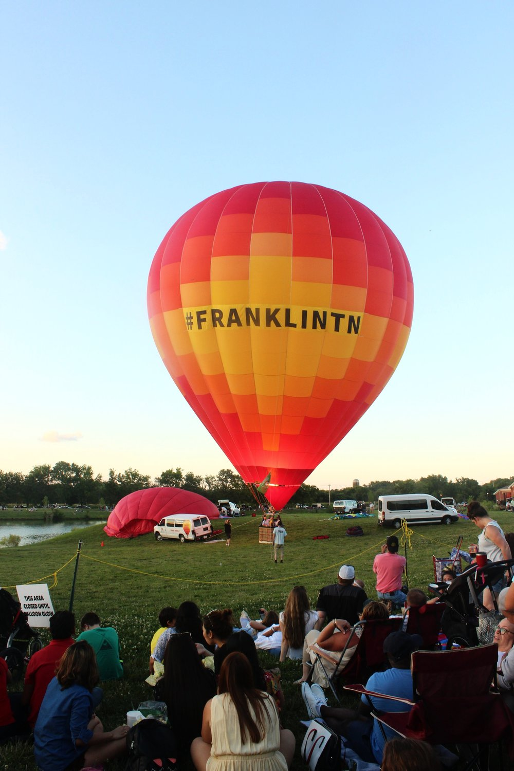& went to the Hot Air Balloon Festival!
