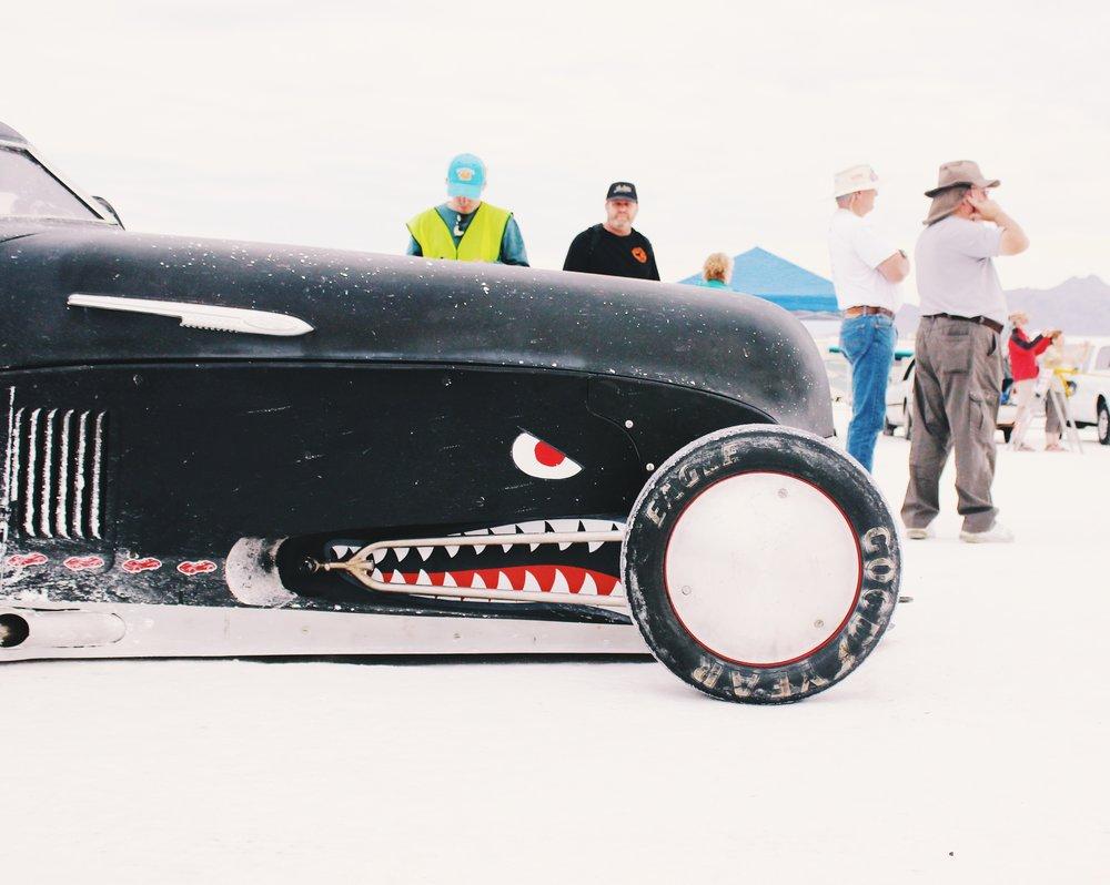 went to Bonneville Speed Week...