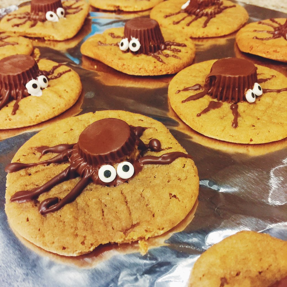 made sweet Halloween treats...