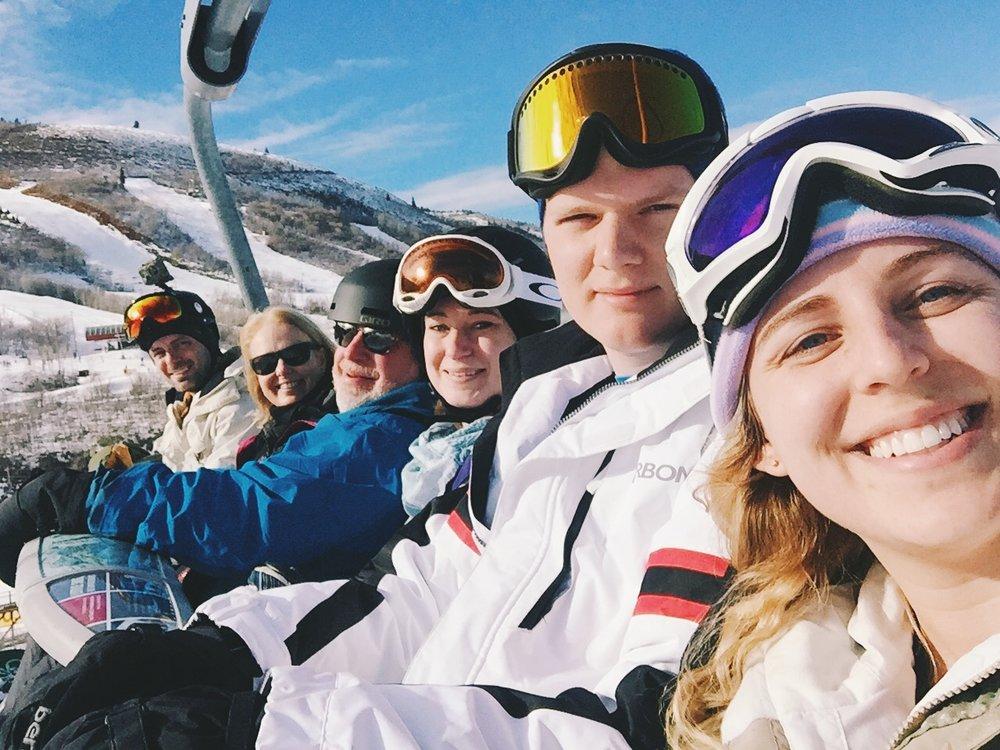 Park City Skiing Snowboarding