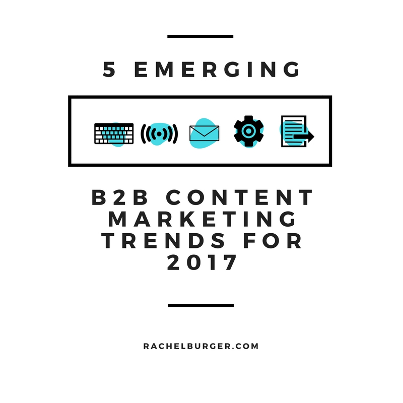 B2B Content Marketing Trends 2017