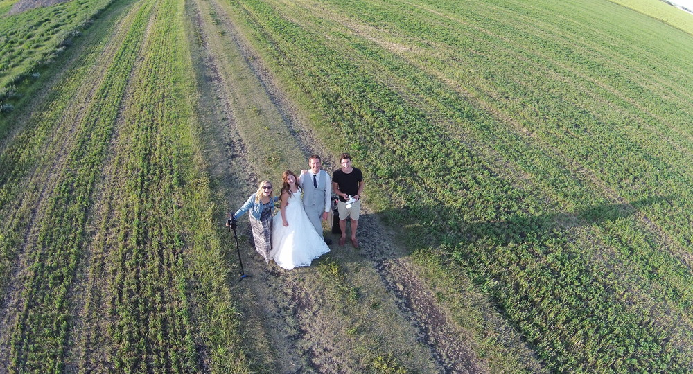 Julie and Tyler's farm wedding out in Morden Manitoba (click to see their video).