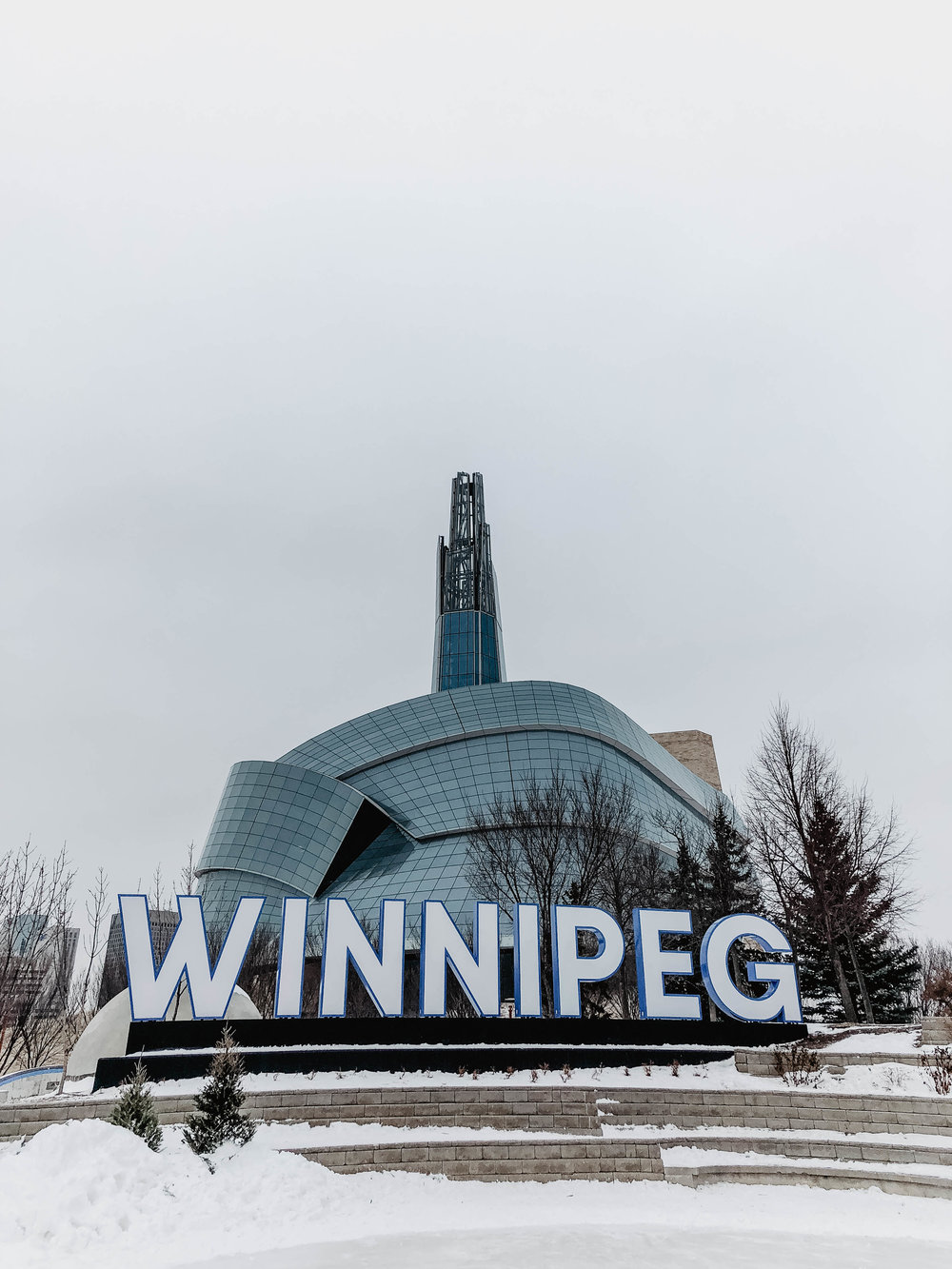 The Forks Winnipeg Sign