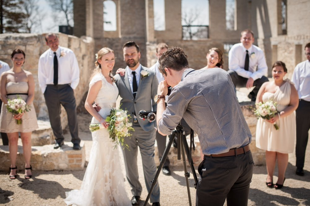 This is a photo captured by WJB Photography at our first wedding ever back in 2014! We're thankful for Brendan and Marissa and the risk they took hiring us!