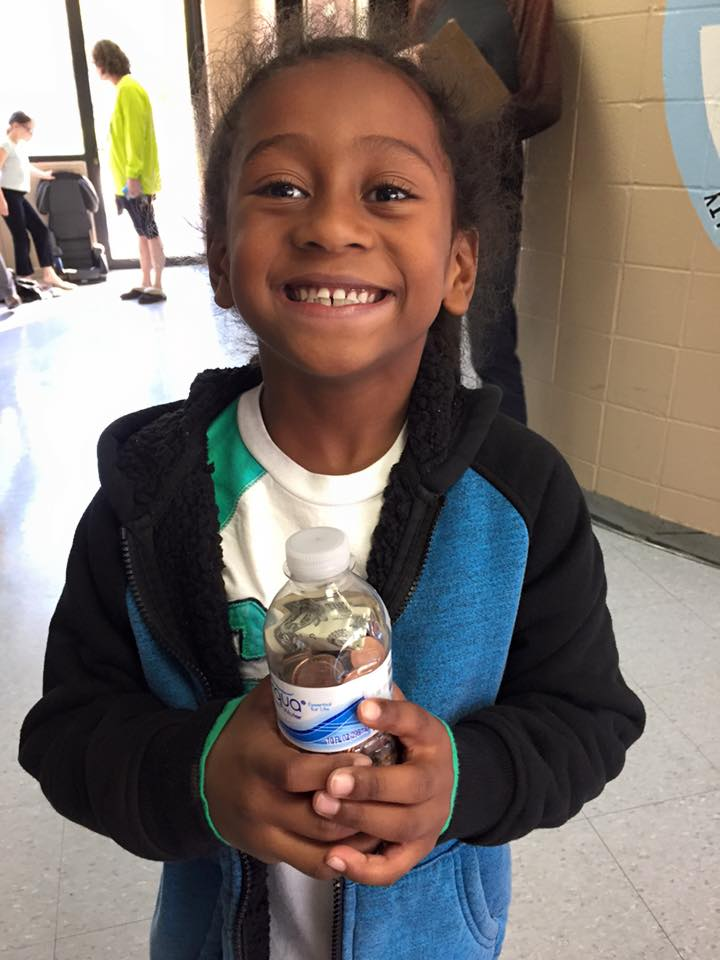 Tua F. Saves his pennies for Thirst Project. He puts the K in SPARK (ans the S in Smile!)