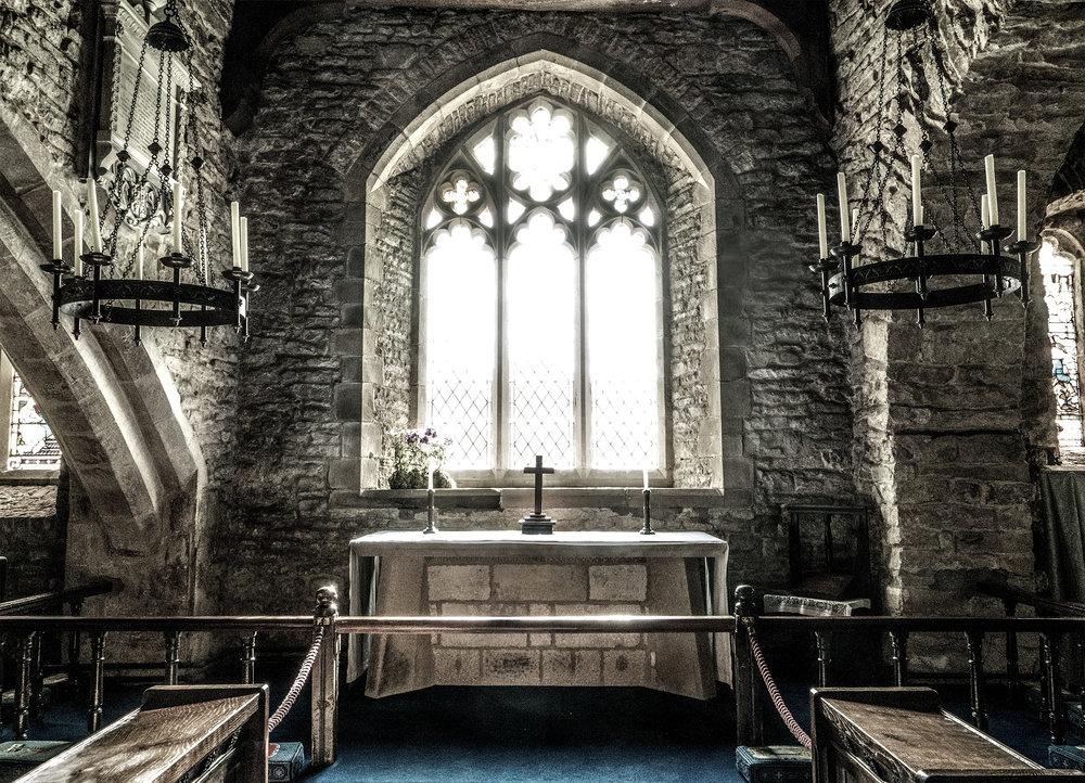 St. Michaels est. 1241 Hubberholme, U.K.