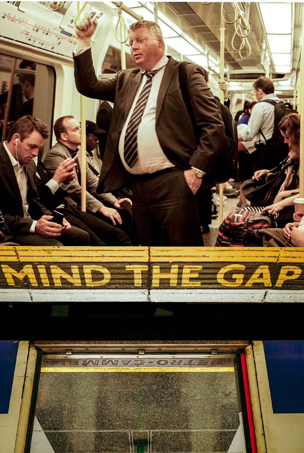 Mind the Gap, Sleppy Man London, U.K.