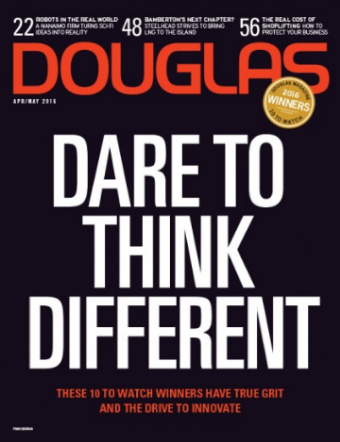 Fish Eye Project featured in Douglas Magazine, issue April/May 2016. Click on the image to access the article online.