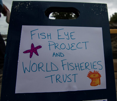 World Ocean's Day 2013 at Fisherman's Wharf with World FIsheries Trust