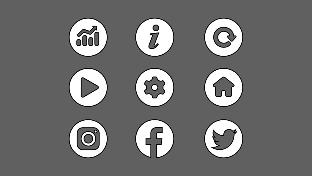 Kasplat cutout icons