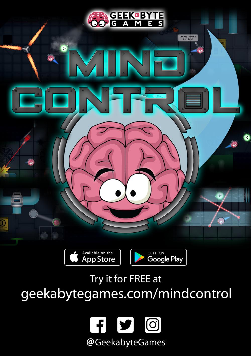 Mind Control flyer