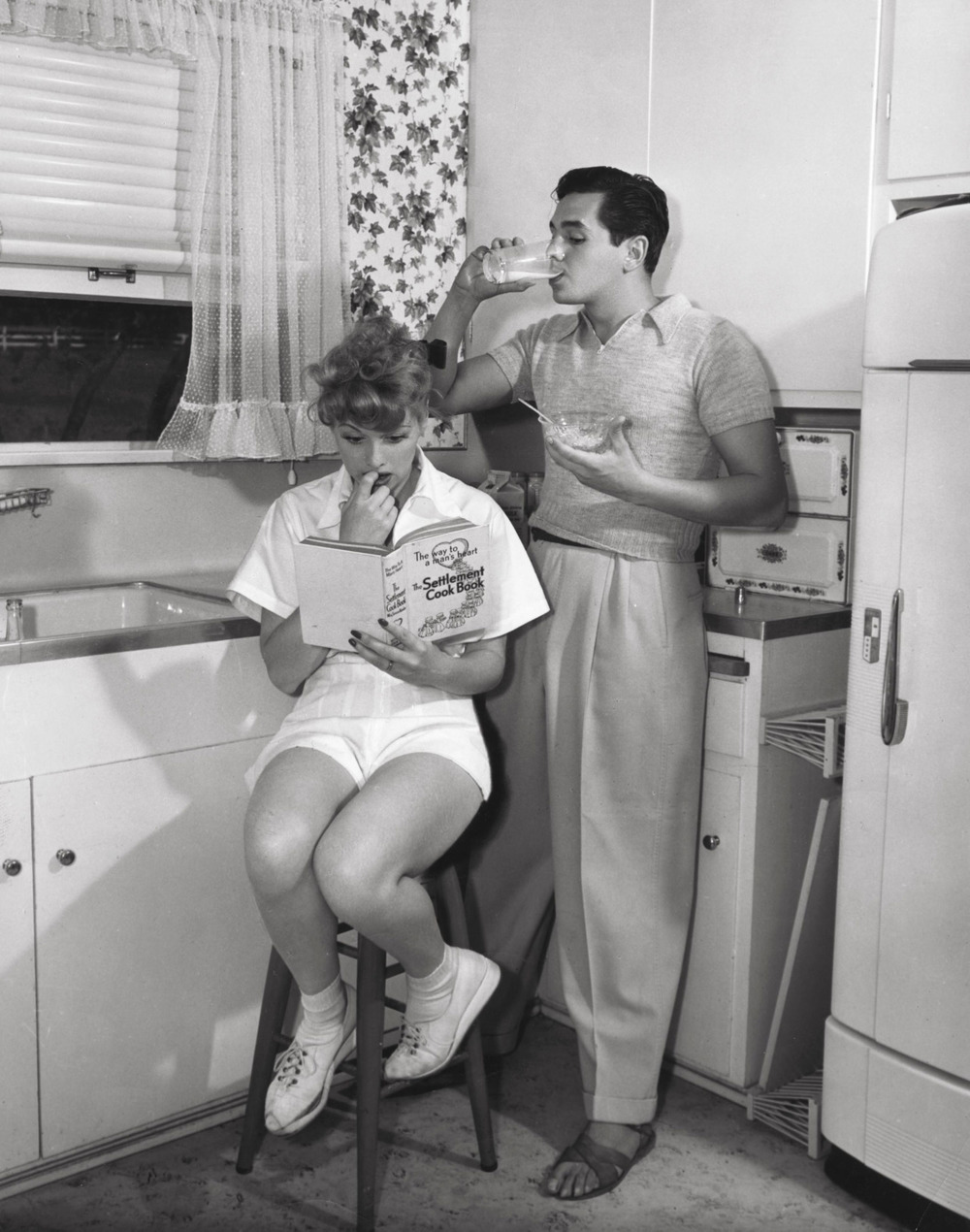 Newlyweds  Lucille Ball  and  Desi Arnaz , 1940s