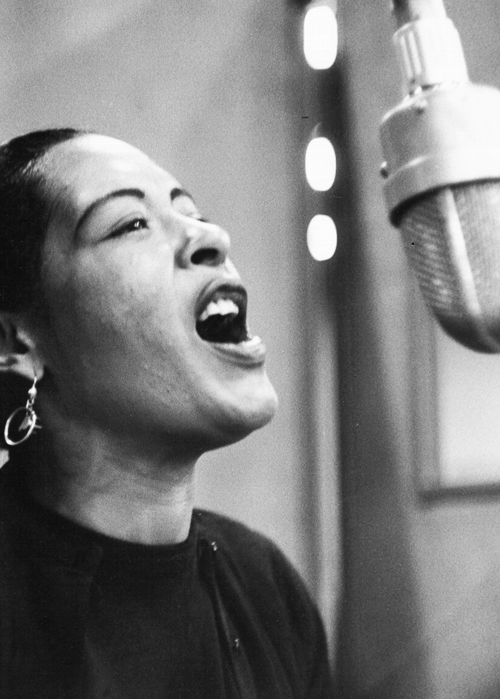 gregorypecks-deactivated2014032 :      Billie Holiday in the 1950s.