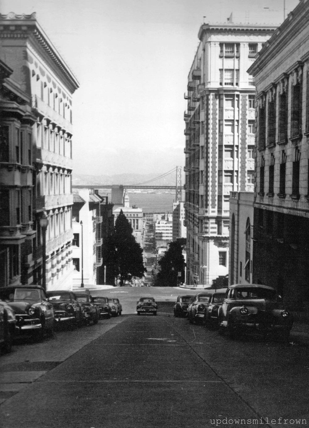 updownsmilefrown :     San Francisco   by Sammy Davis, Jr.