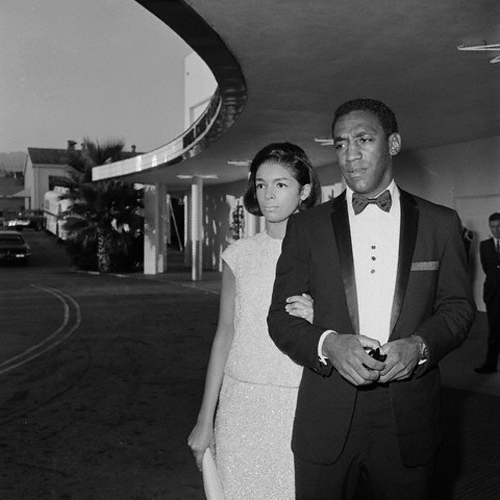 alifesuited :      woodpaneledshoes :      Bill and Camille    Emmy Awards Los Angeles, September 12, 1965.   Bettman/Corbis     Always Reblog