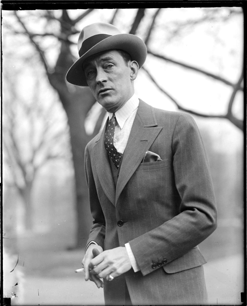 "voxsart :      James ""Jimmy"" Walker, Mayor of New York City 1926-1932.    Photographtaken during a visit to Boston."
