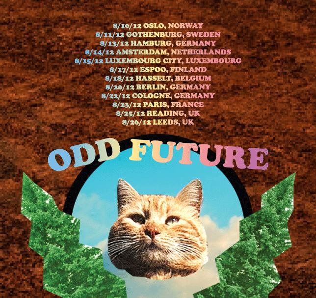 oddfuture :     Our Europe Run Starts In A Couple Days! Click Da Photo