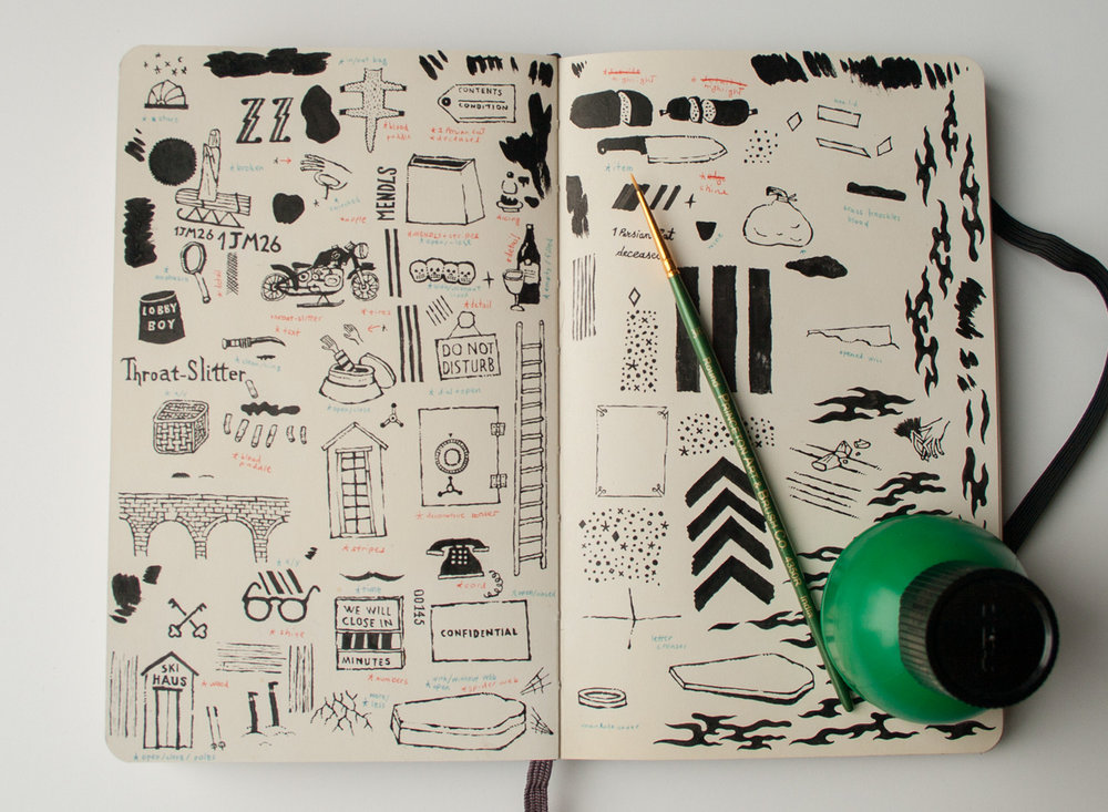 process: sketchbook