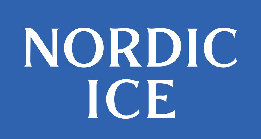 Custom drawn letters for Nordic Ice Identity; work completed at  Emerson Stone .