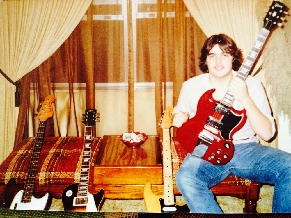 Full on into jamming and gigging, circa 1981