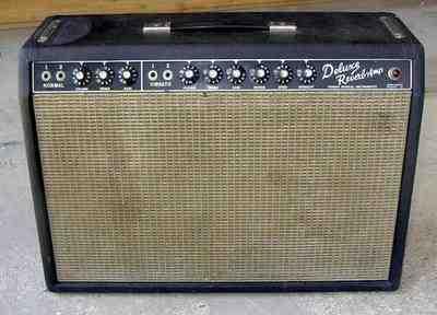 1965 Fender Deluxe Reverb Amp