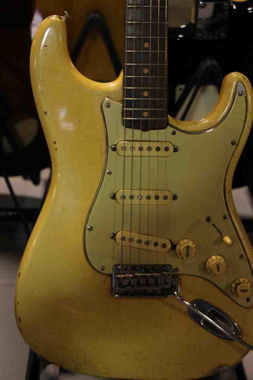 Aged Fender Strat