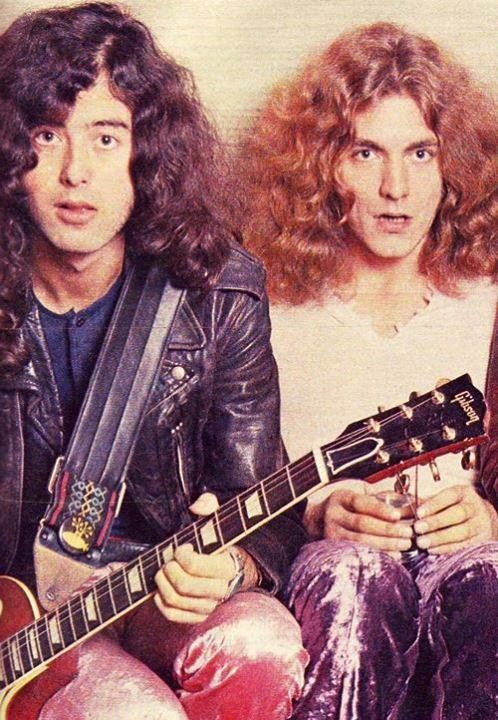 Jimmy Page and Robert Plant - The early days