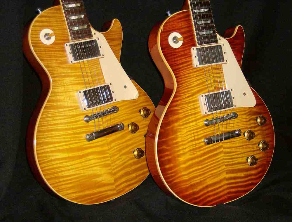 1959 Gibson Les Paul 9 592 and 9 850 (The Believer Burst)