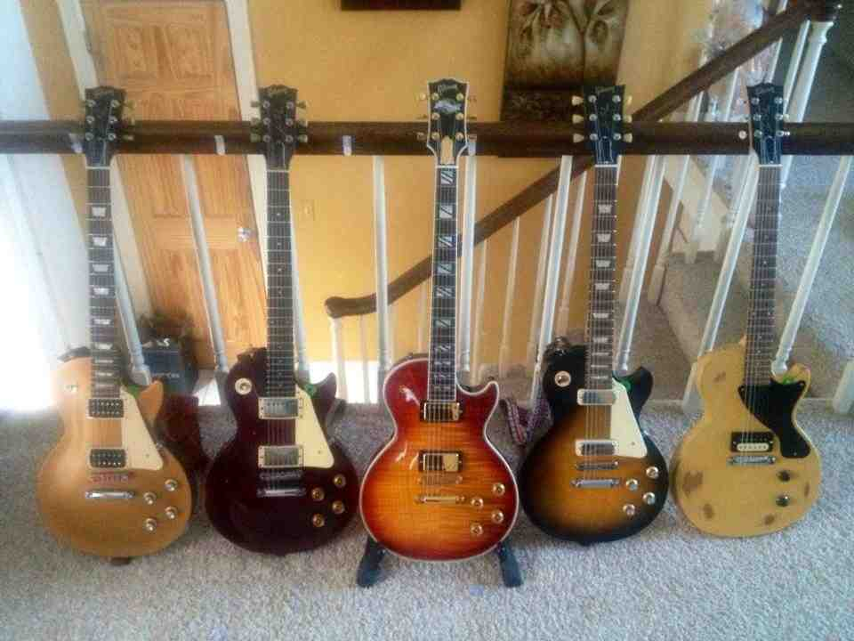 One can never have too many Les Pauls courtesy of Darren Debing.jpg
