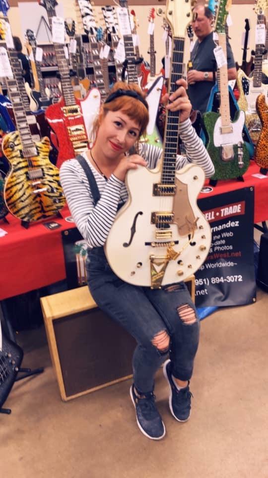 Mercedes Girard , Guitars West