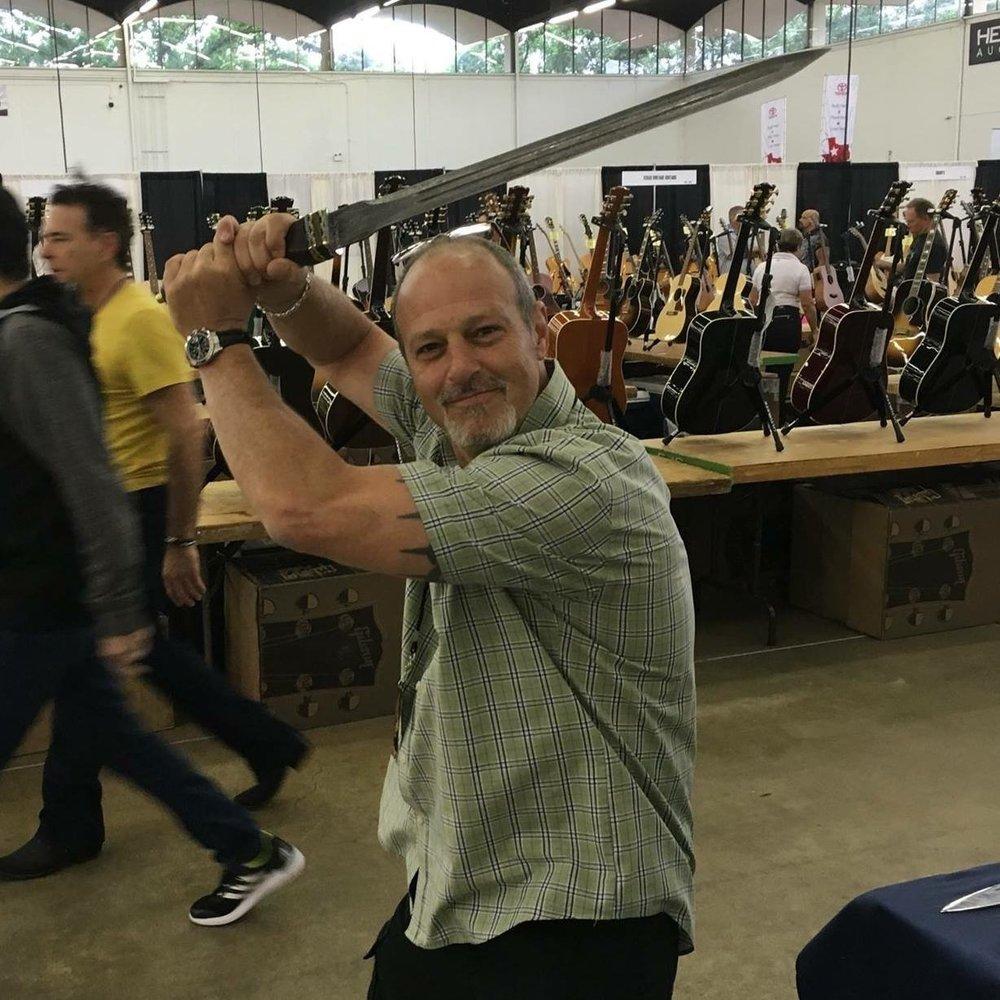 Ray Mauldin , Grinning Elk Guitars & 2019 Atlanta Guitar Show Producer