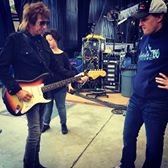 Eliot with Joe Bonamassa