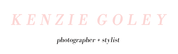 Kenzie Goley - Fashion + Lifestyle Photographer