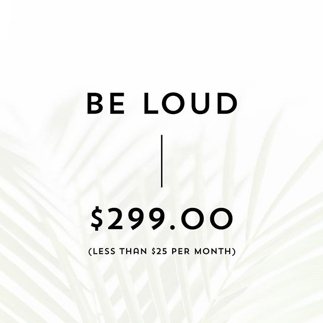 Be Loud is Karratha Collective's noisiest package.  Offering a directory listing with a clear description of your business and accompanying images, blog feature, participation in our ever popular Christmas giveaway, sponsored social media posts (over a two day period) and more.