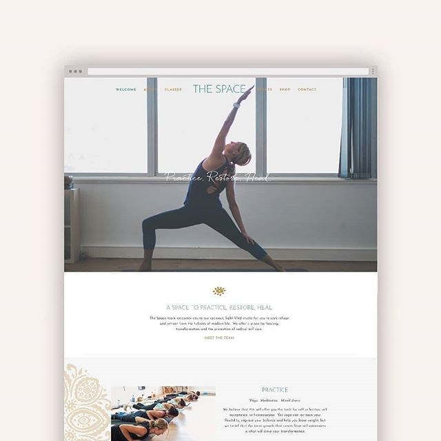 With a design style embracing simple sophistication it's easy to see why @puredesignco web and branding designs are both beautiful to look at and effortless to use.