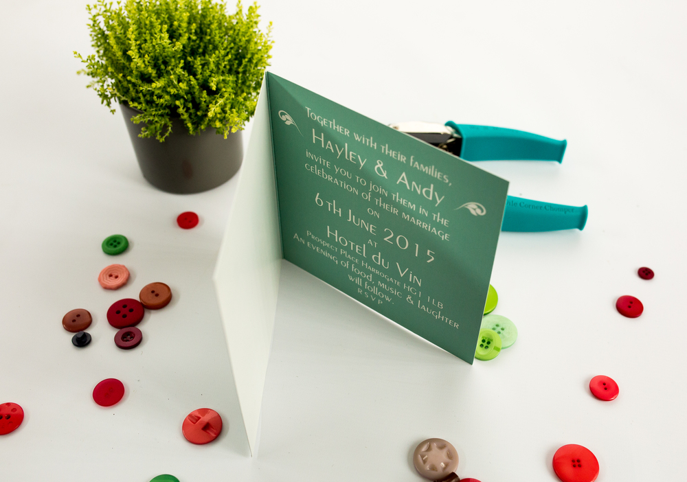 Cloche Invitation Interior