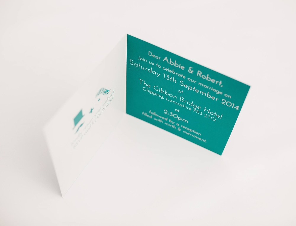 North Folded Invitation Interior