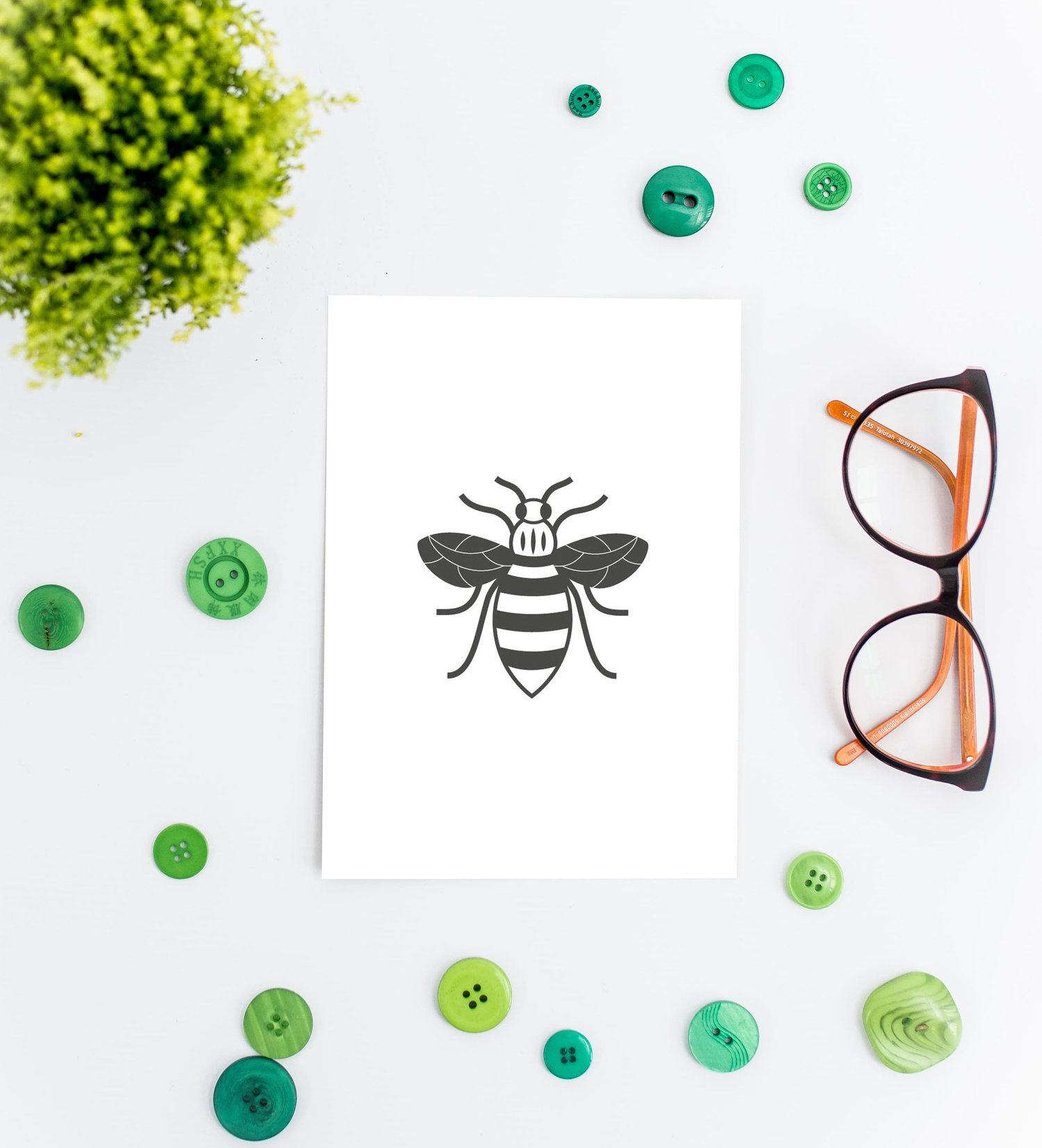 Manchester Bee Wedding Stationery | Think Good Get Hitched
