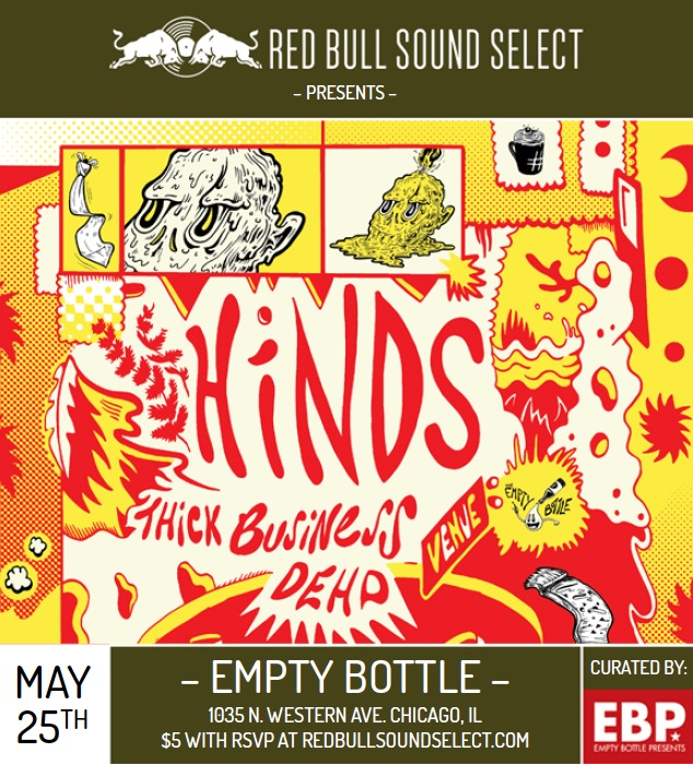 hinds | the empty bottle | chicago