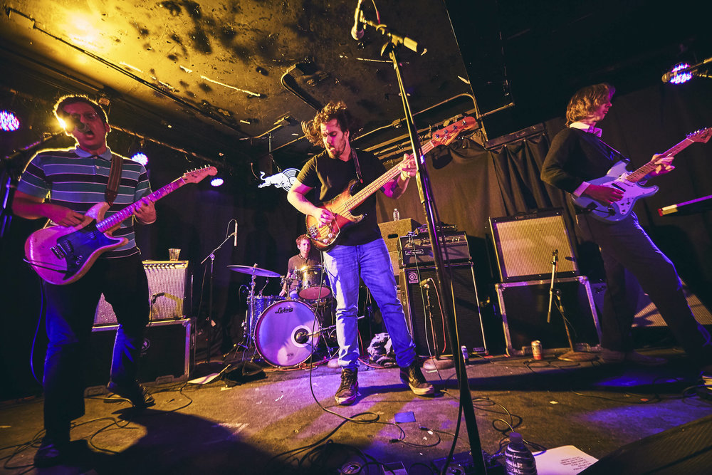parquet courts | empty bottle. chicago | 11.15.17 | 30 days in chicago
